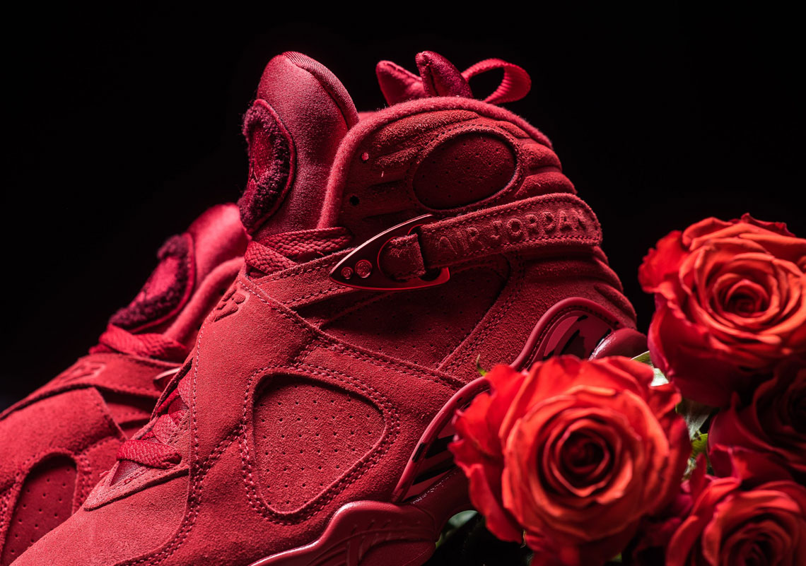 Air Jordan 8 Valentine S Day Wmns Detailed Images Sneakernews Com