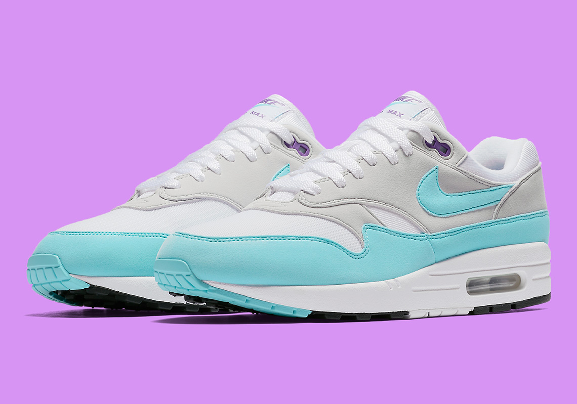 "497ae4a1e1d3 The Nike Air Max 1 Anniversary ""Aqua"" Is Finally Releasing In The U.S."