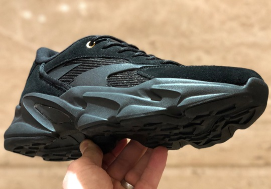 "ANTA's Chunky Running Shoe In ""Triple Black"" Is Coming In March"