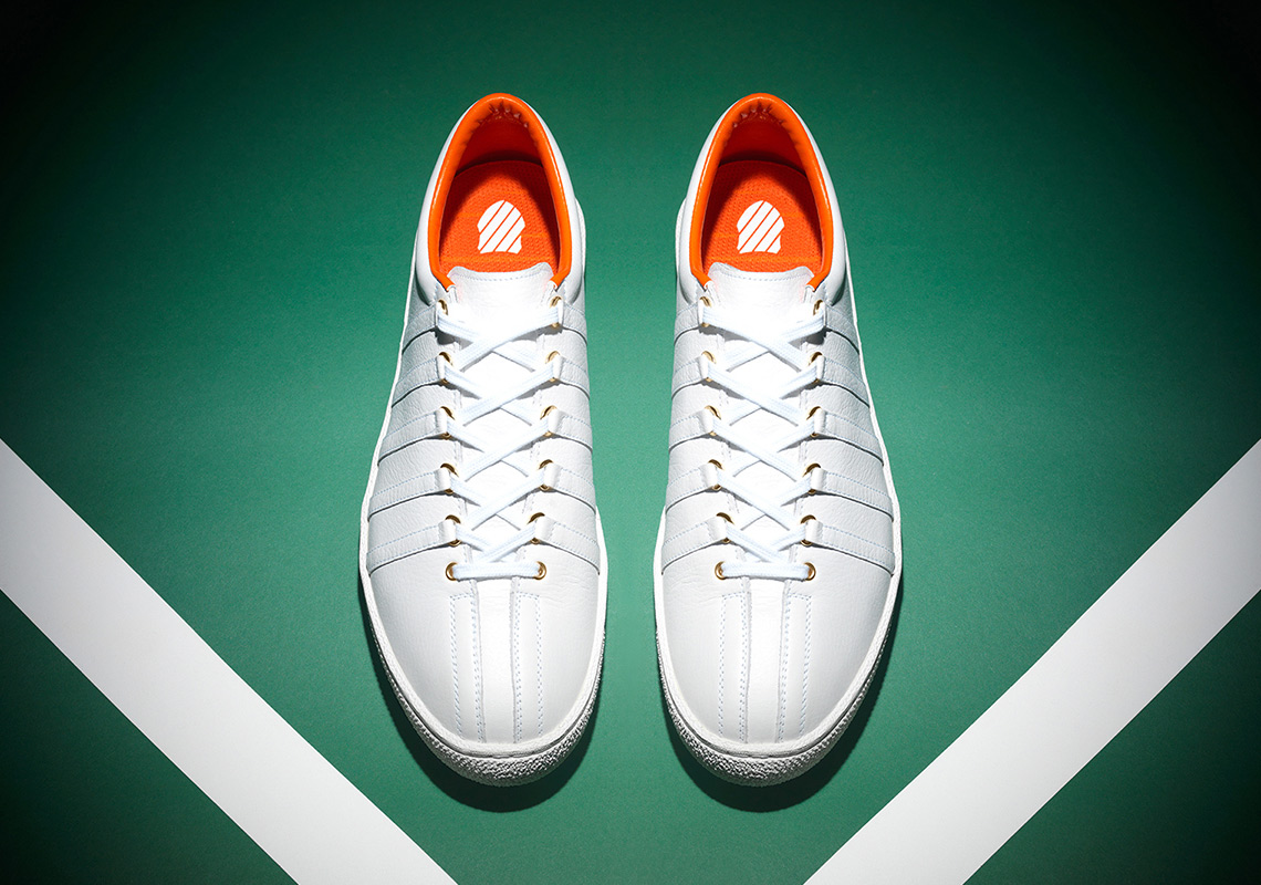 24313a074f Anwar Carrots And K-Swiss Relaunch The Brand s Most Iconic Shoe