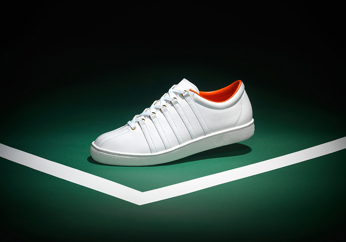 Anwar Carrots And K-Swiss Relaunch The Brand's Most Iconic Shoe