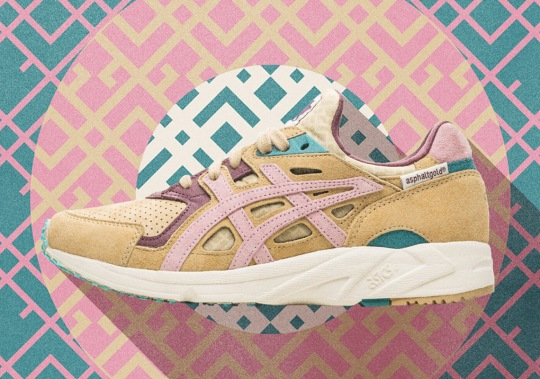 asphaltgold Teams Up With ASICS For A Special GEL-DS Trainer