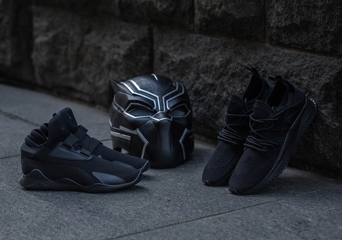 best service b0dee aab9a Black Panther BAIT Puma Tsugi Mostro Mid Release Info   SneakerNews.com
