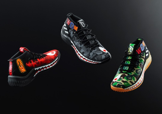 adidas To Release The BAPE x Dame 4 In Three Colors During All-Star Weekend
