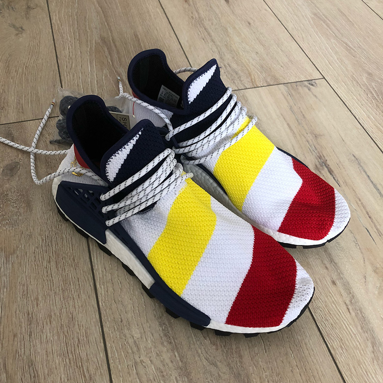 70a3a12a3 Grab an in depth look at this BBC x Pharrell x adidas NMD Hu sample below  and set your sights on a release in October. Stay tuned for any and all  updates as ...