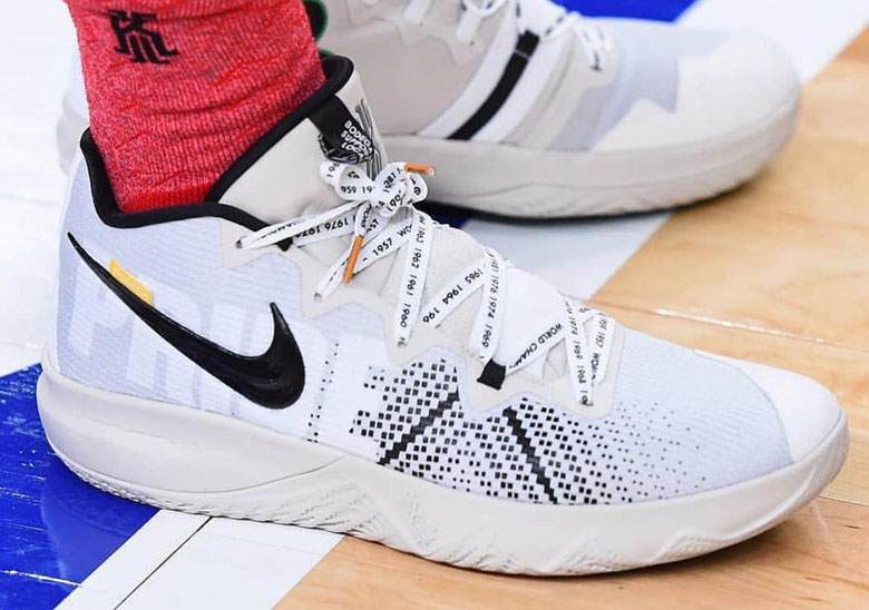 online retailer aec96 cbf6b Bodega x Nike Boston-themed Kyrie Irving Shoe | SneakerNews.com