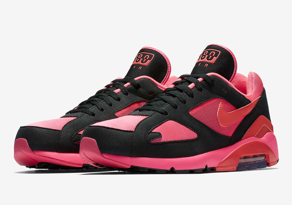 new style 80f6f 56cd2 Official Images Of The COMME des Garcons x Nike Air 180. February 2 ...