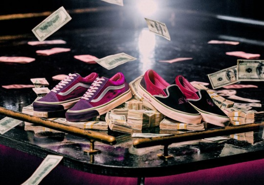 Feature And Vans Create A Collection Inspired By Sleepless Night In Las Vegas