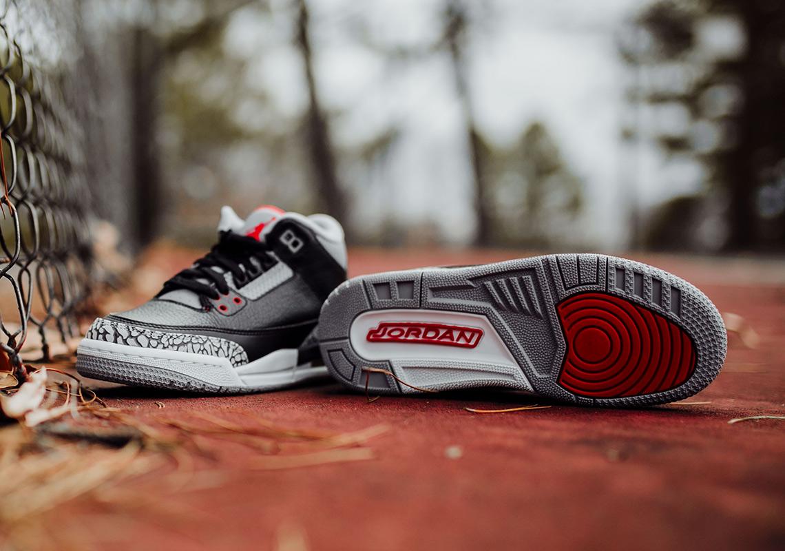 Air Jordan 3 Cemento Video Bambino nvgZU