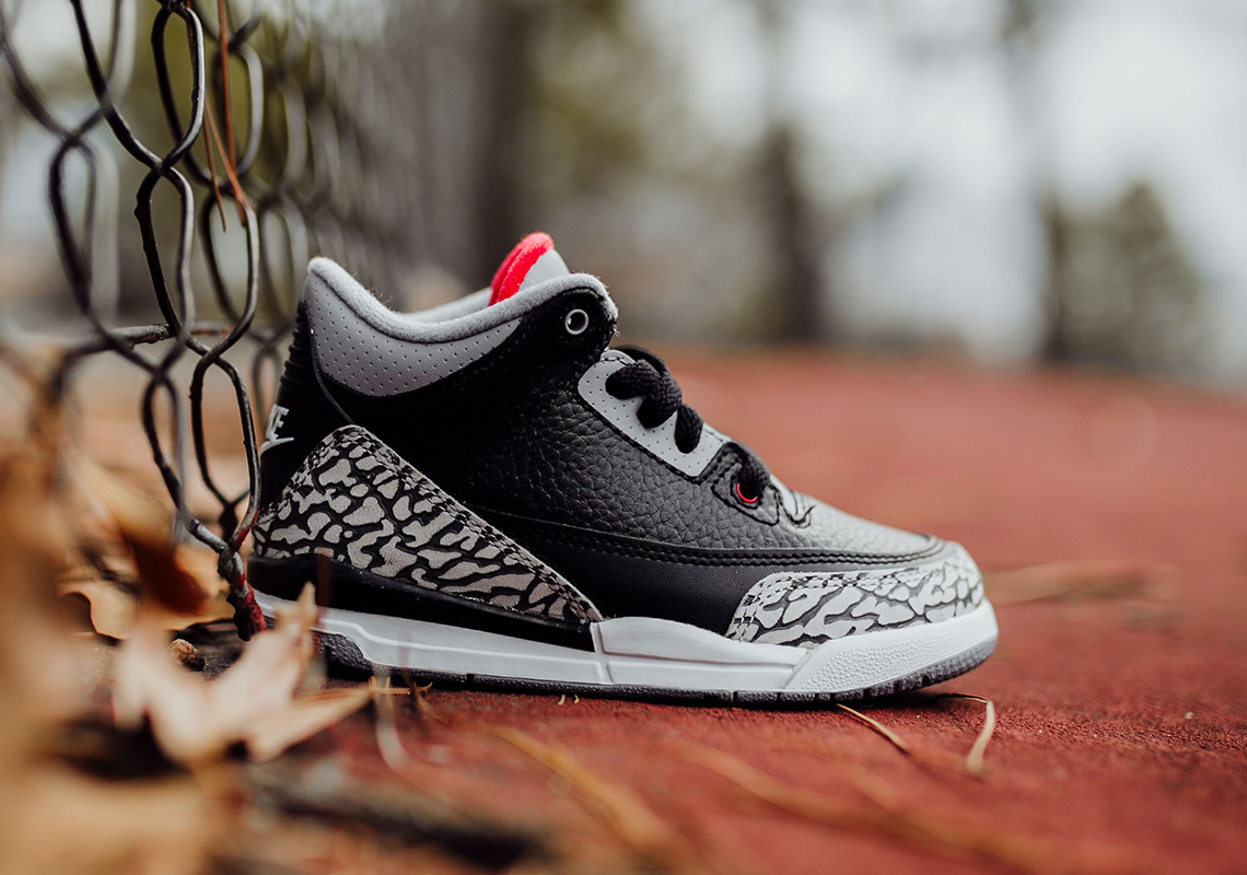 "new product 158a5 34fdd Air Jordan 3 ""Black/Cement"" Complete Size And Price Info ..."