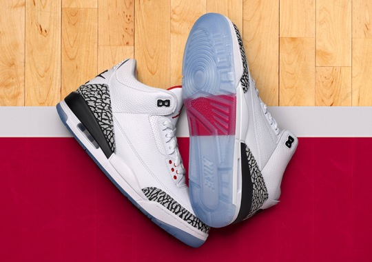 """Air Jordan 3 """"Free Throw Line"""" Releasing Early In NYC Through SNKRS Pass"""