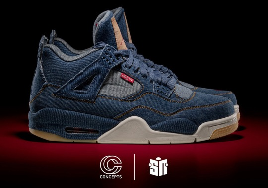 Concepts And Sneaker News To Give Away Five Pairs Of Levi's x Air Jordan 4