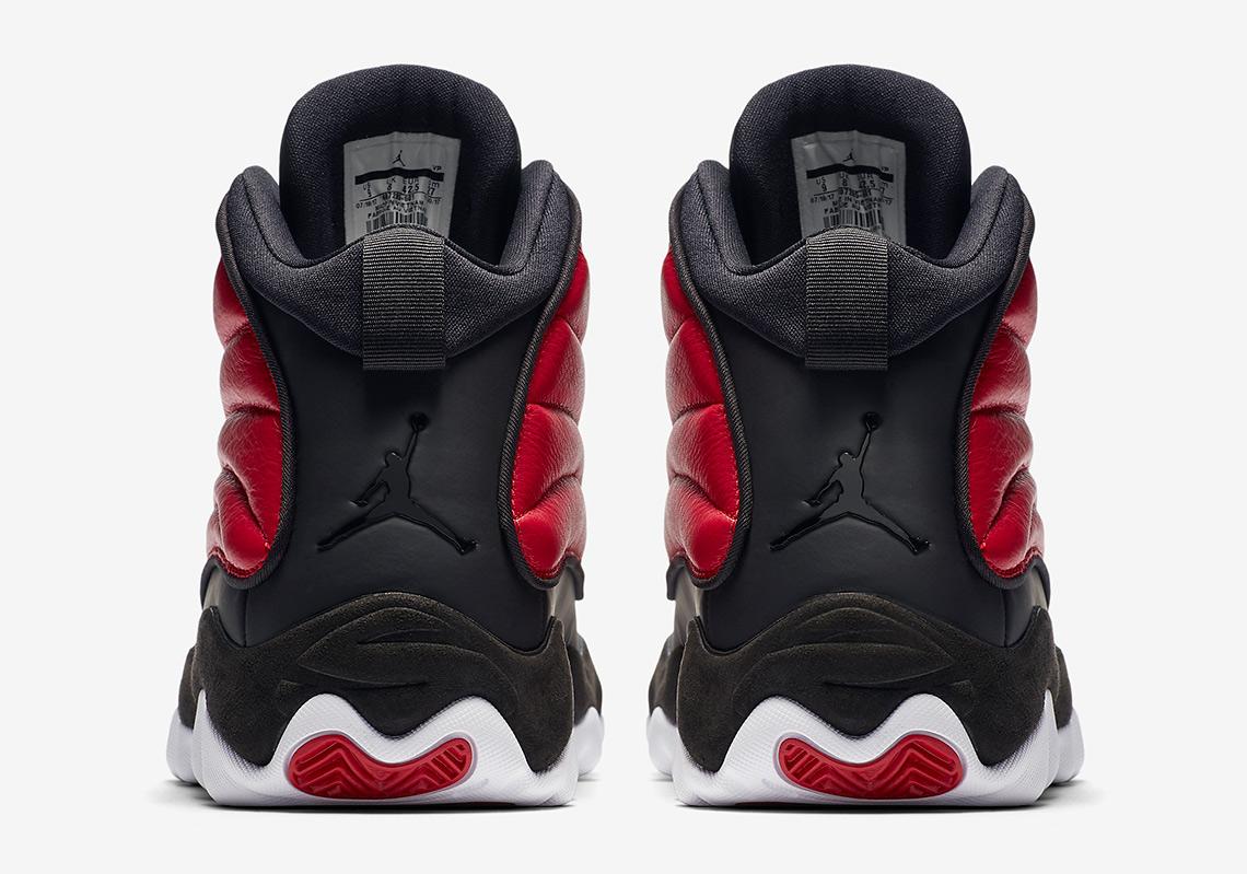 ecafe6a5ff7d Jordan Pro Strong 140Color  Black Gym Red-WhiteStyle Code  407285-601