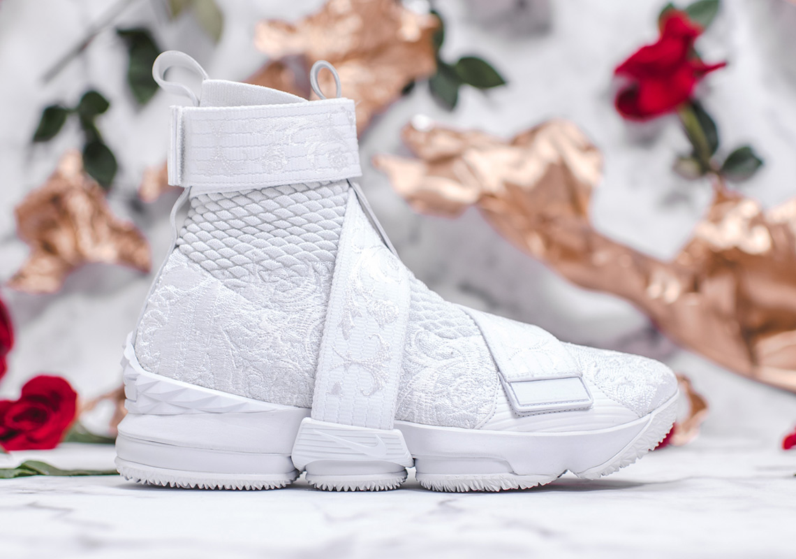 """0f5b6998 KITH x Nike LeBron 15 Lifestyle """"City Of Angels"""" Release Date: February  16-17th, ..."""