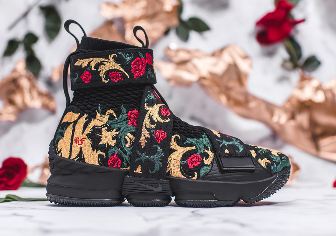 "305c3dc480c6 Advertisement. KITH x Nike LeBron 15 Lifestyle ""King s Crown"" Release Date   February ..."