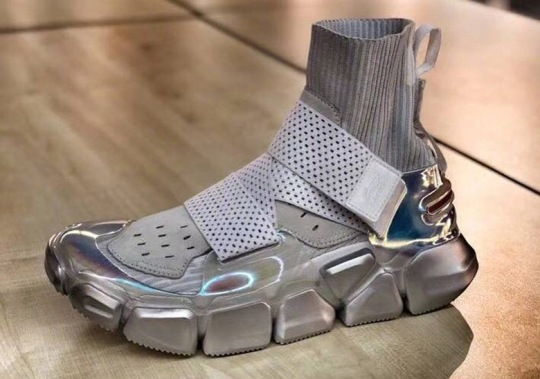 Li-Ning Reveals A Futuristic Lifestyle Shoe In Silver