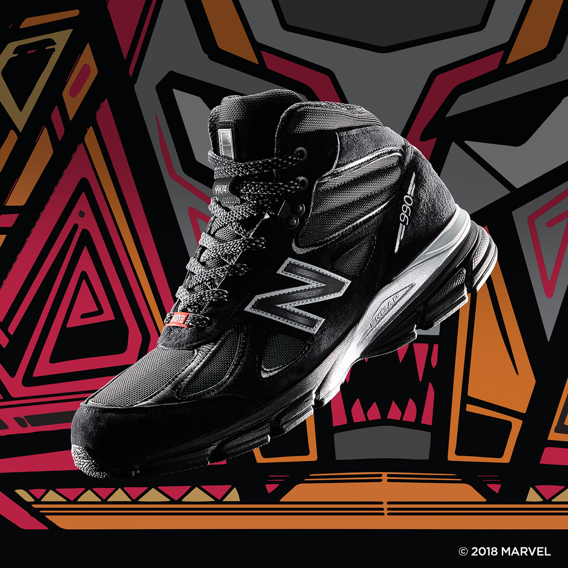 a7012816bc1 Jimmy Jazz x Marvel Black Panther x New Balance Collaboration ...