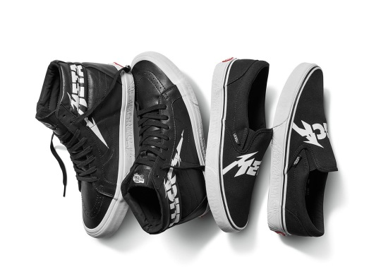 Vans And Metallica Team Up For An Exclusive Footwear Collection