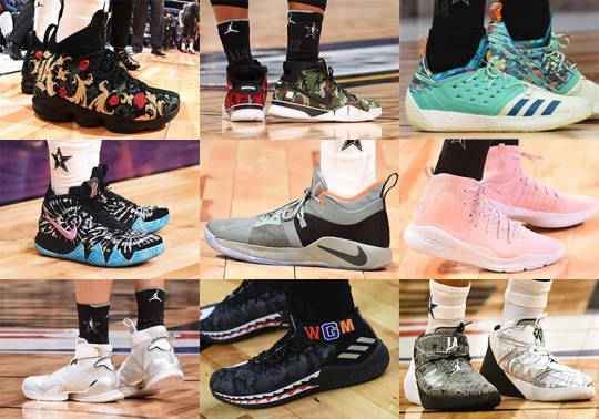 The NBA All-Star Game Breaks Ground For Sneaker Collaborations On The Court