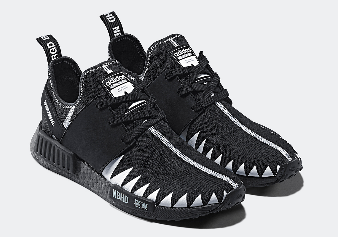 competitive price cf01a f6ee6 Neighborhood x adidas NMD R1 PK Release Date February 24, 2018. Style  Code DA8835. Neighborhood x adidas Chop Shop