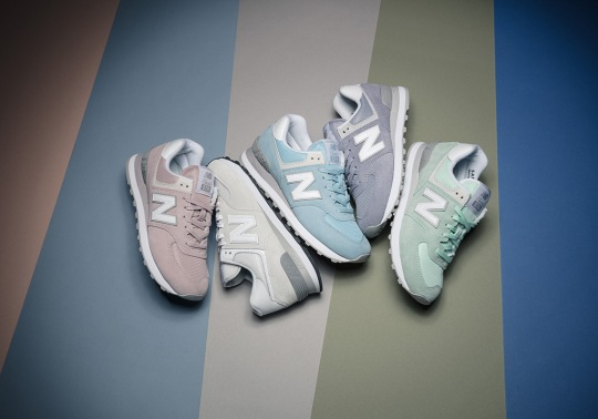 "The New Balance 574 ""Pastel Pack"" Is Available Now"