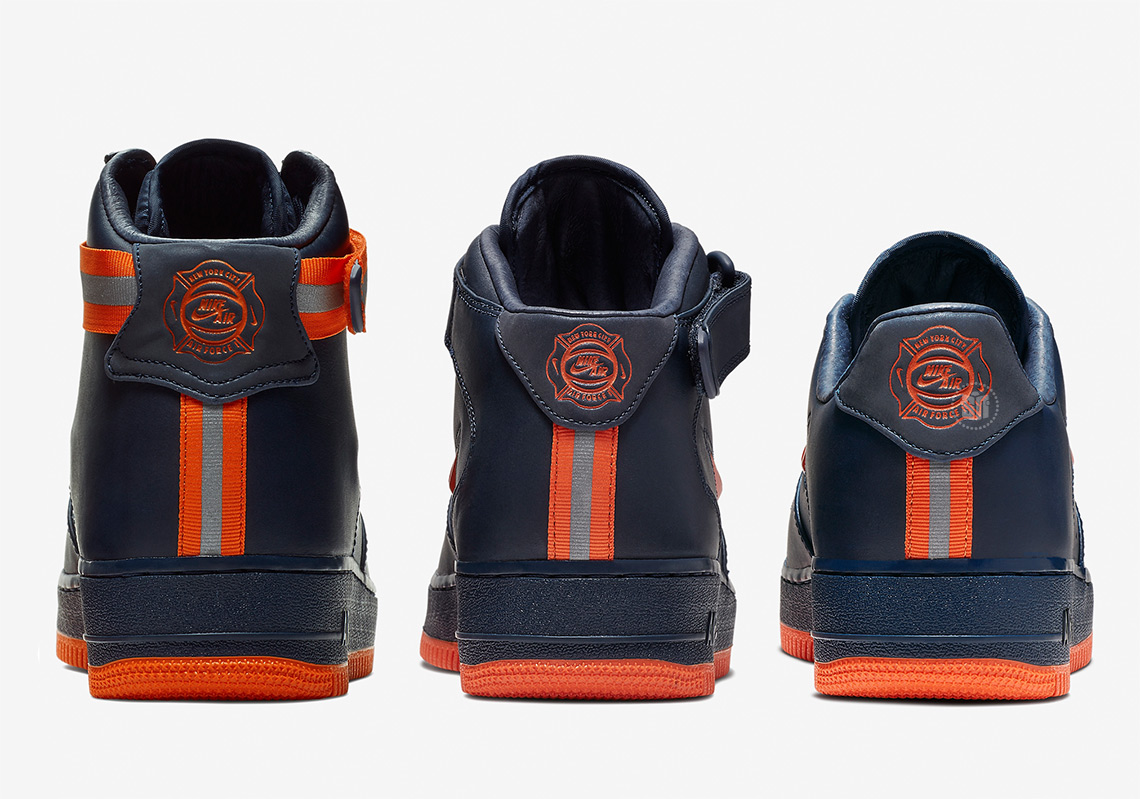 save off f56b3 b19b6 Nike Honors The FDNY With NYC-Inspired Air Force 1 Set