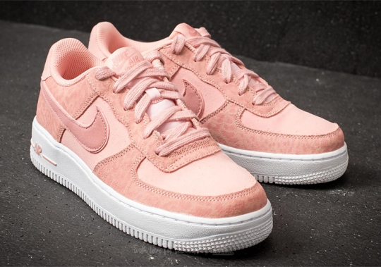 """Nike Releases An Air Force 1 """"Leopard"""" Pack For Kids"""