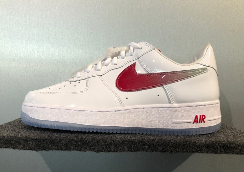 2d93709c60ee71 One of Nike s fan favorite Air Force 1 designs appears to be on its way  back