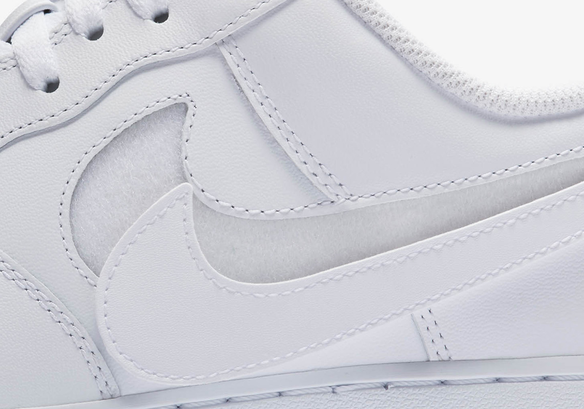 """buy popular 46ce1 2036b Nike Air Force 1 Low """"Swoosh Pack"""" Release Date  February 15th, 2018  110.  Style Code  AH8462-102"""