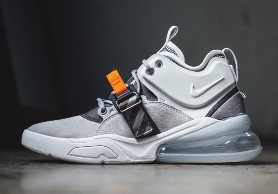 This New Air Force 270 Release Features A Bit Of Nike History