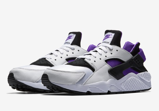 "Nike Brings Back 1991's Air Huarache ""Purple Punch"""