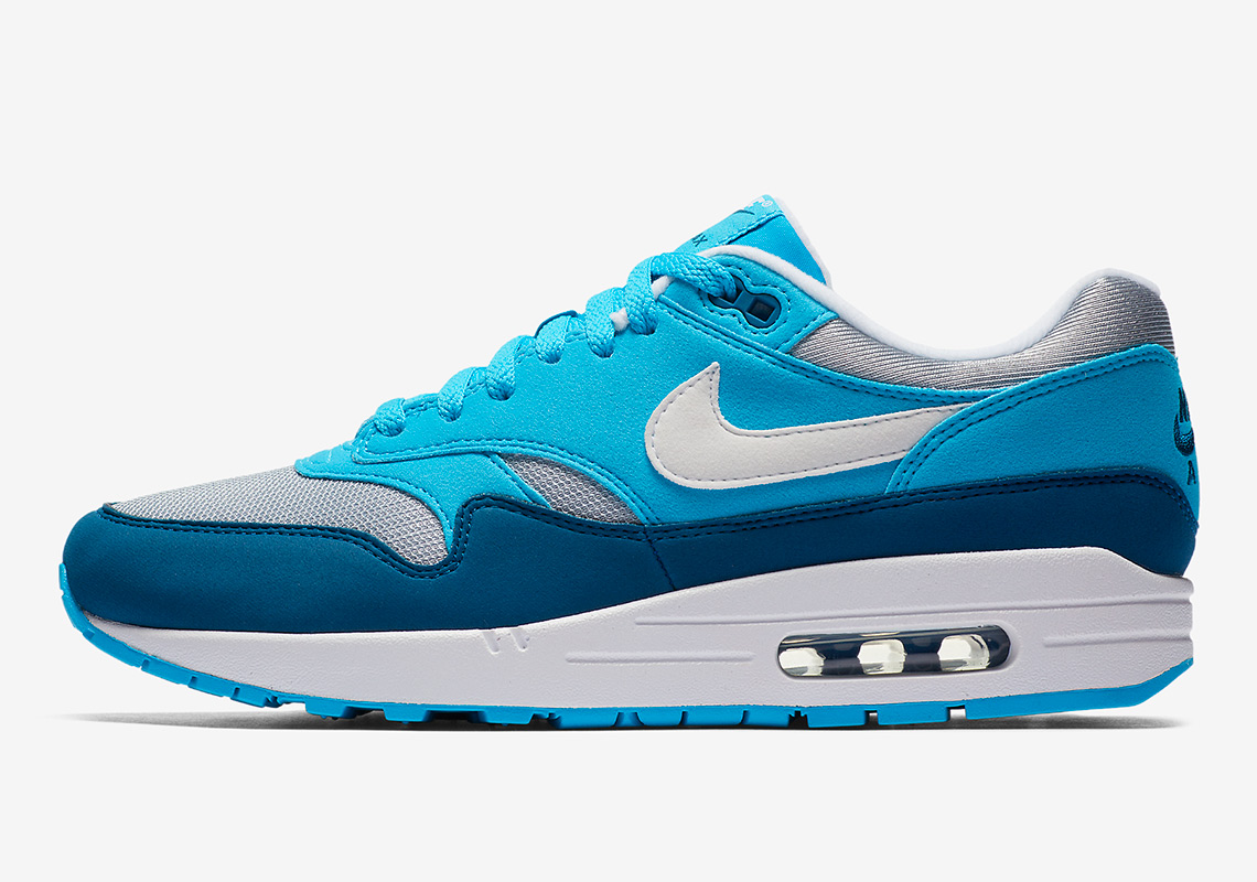 nike air max 1 blue force available now. Black Bedroom Furniture Sets. Home Design Ideas