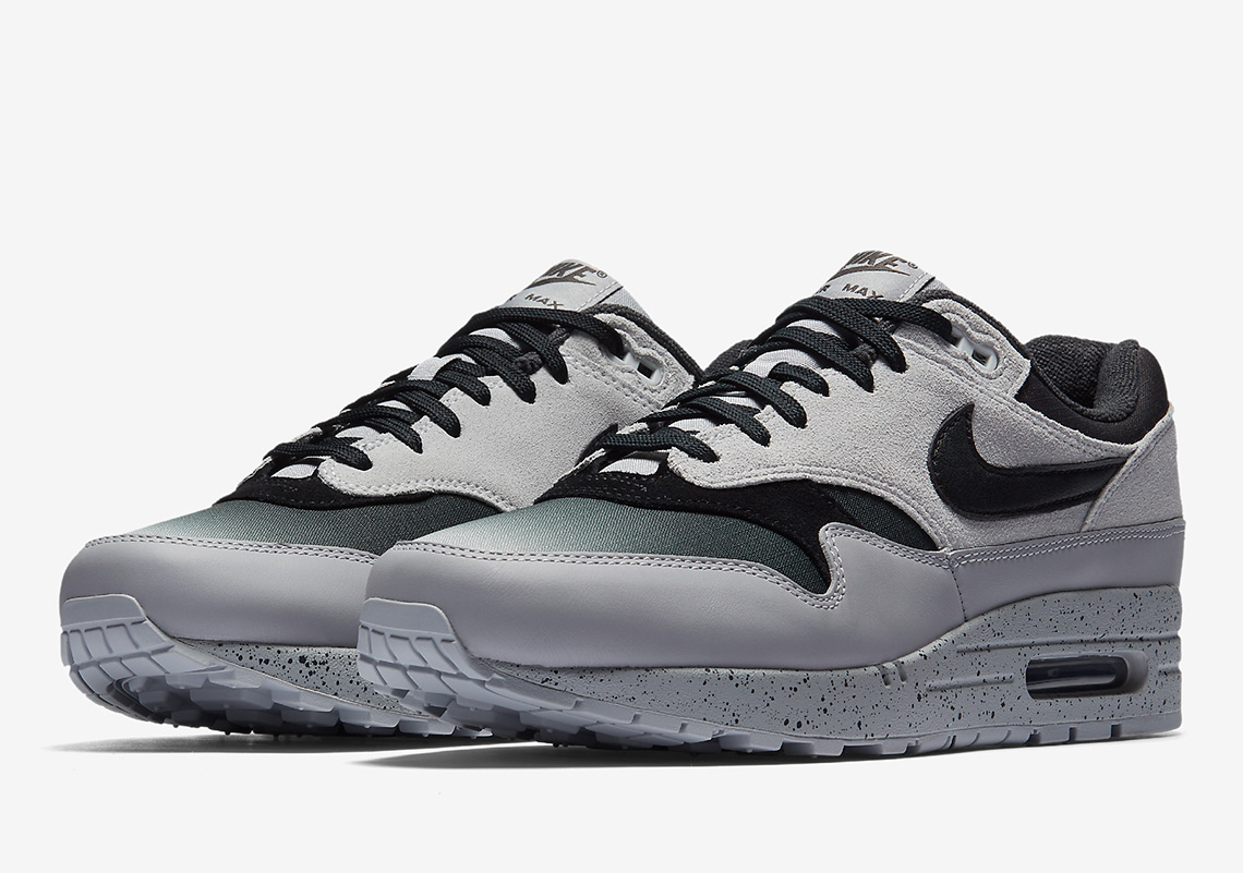 Nike Air Max 1. AVAILABLE AT Nike $130. Color: Pure Platinum/Wolf Grey/Anthracite/Black
