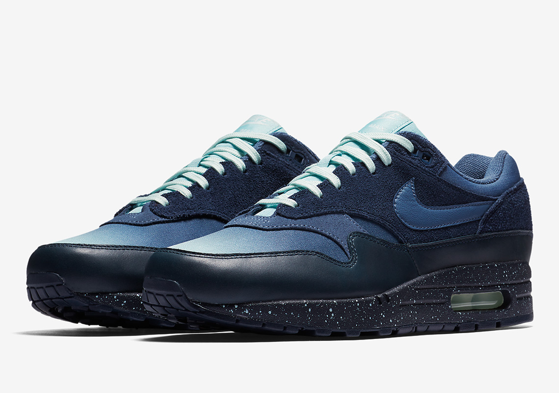 685378b19ff Nike Air Max 1. AVAILABLE AT Nike $130. Color: Pure Platinum/Wolf  Grey/Anthracite/Black Style Code: 875844-003. Advertisement. Nike Air Max 1