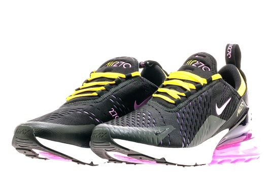 Release Info For The Nike Air Max 270 In Magenta And Gold