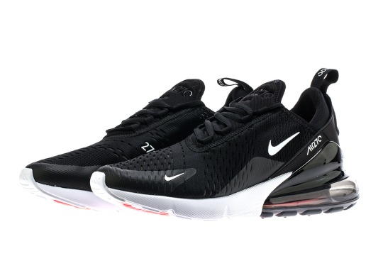 The Nike Air Max 270 In Black/White Is Coming On March 2nd