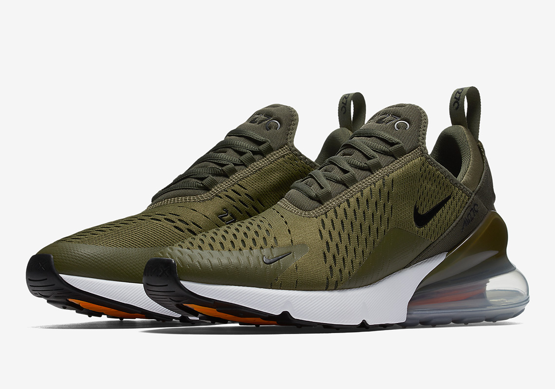 brand new a9e20 ca1ba Nike Air Max 270 Medium Olive AH8050-201 Coming Soon ...