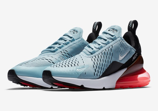 "Nike Air Max 270 ""Ocean Bliss"" Is Coming In March"