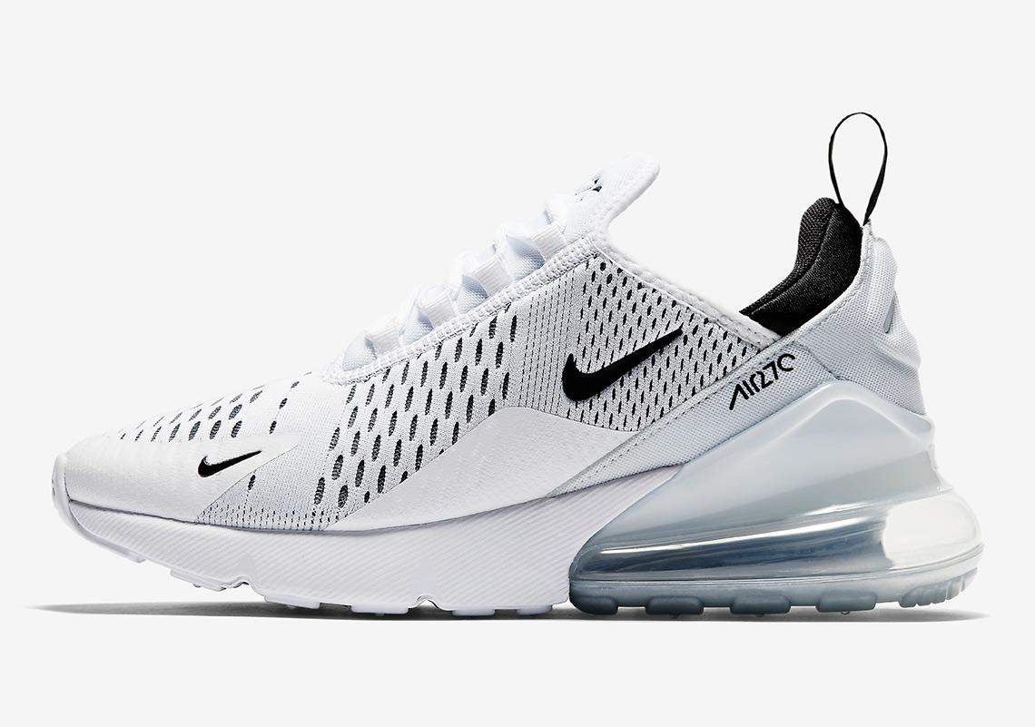 watch b6630 98284 Nike Air Max 270 Black/White WMNS AH6789-100 Release Info ...