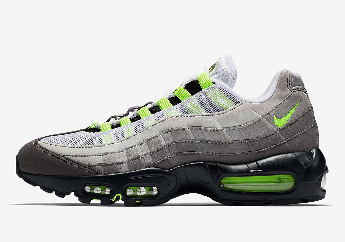 "38ccd47bc3b The Nike Air Max 95 OG ""Neon"" Is Returning In March"