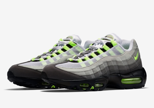 "The Nike Air Max 95 OG ""Neon"" Is Returning In March"
