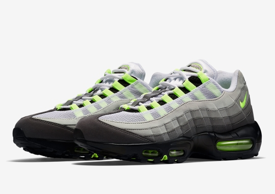 """The Nike Air Max 95 OG """"Neon"""" Is Returning In March"""