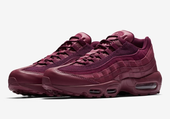 "Nike's Air Max 95 Gets The ""Vintage Wine"" Treatment"