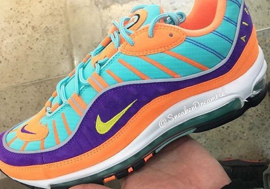 A Colorful Nike Air Max 98 Is Coming Later This Month