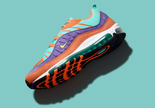 This Colorful Nike Air Max 98 Is Releasing Next Week In Europe And Asia