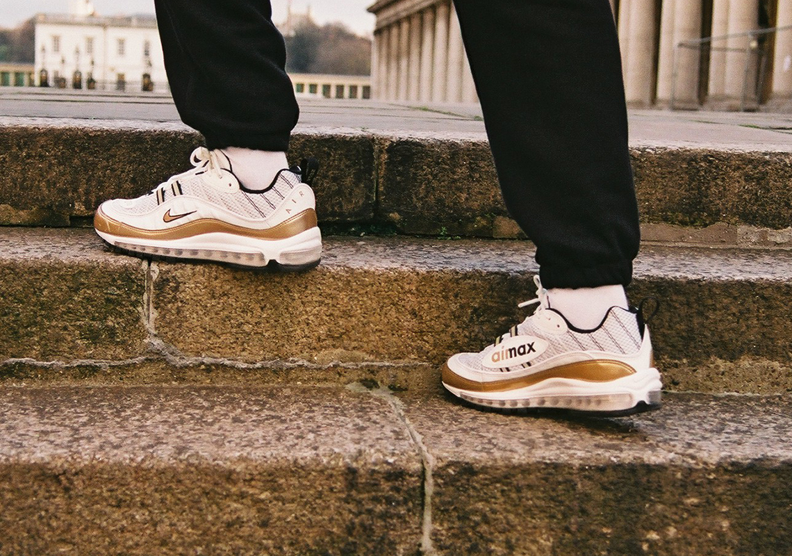 "new arrival 422f8 fceb5 Nike Air Max 98 ""GMT"" Release Date  February 16, 2018 £150. Advertisement.  Nike Zoom Spiridon ""GMT"""