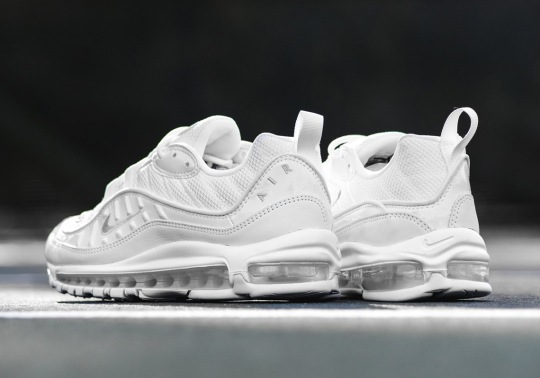 "Here's When You Can Buy The Nike Air Max 98 ""Triple White"""