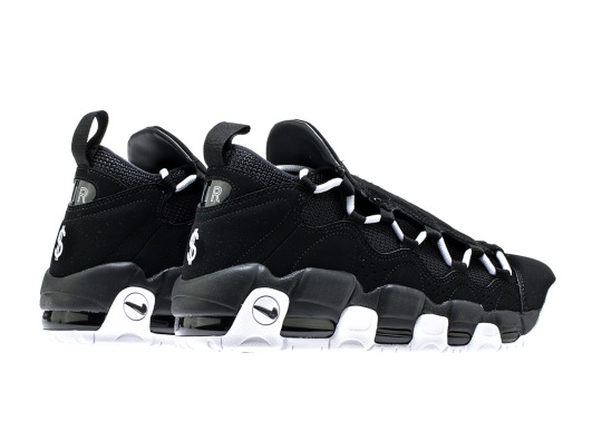 The Nike Air More Money In Black/White Is Coming Soon