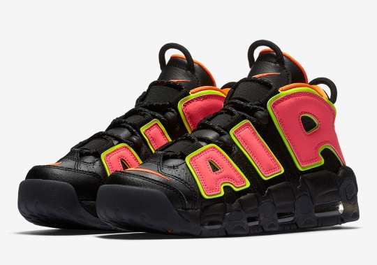 "Nike Adds ""Hot Punch"" To The Air More Uptempo For Women"