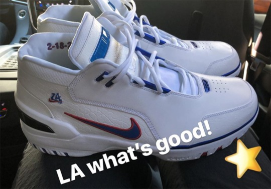 LeBron James Sports New Nike Air Zoom Generation Colorways